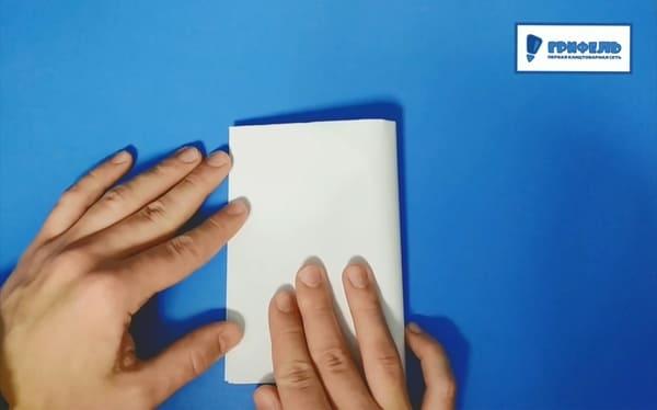 Как сделать кораблик из бумаги - фото 3