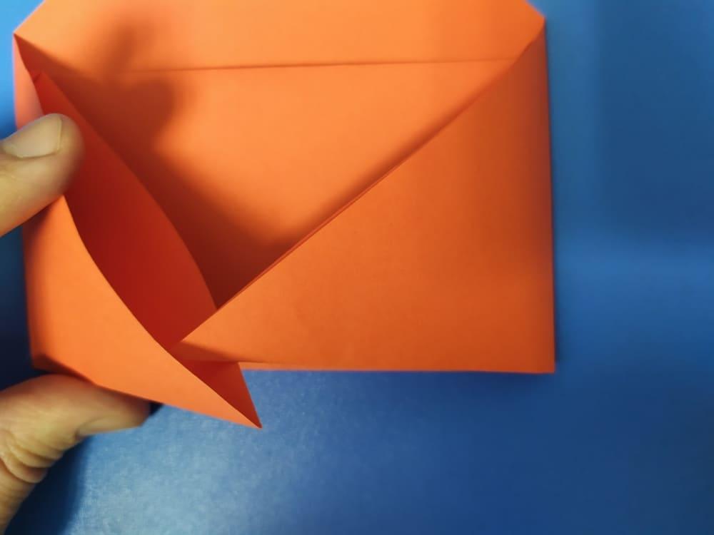 Как сделать конверт из бумаги - фото 8