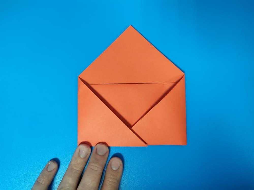 Как сделать конверт из бумаги - фото 9