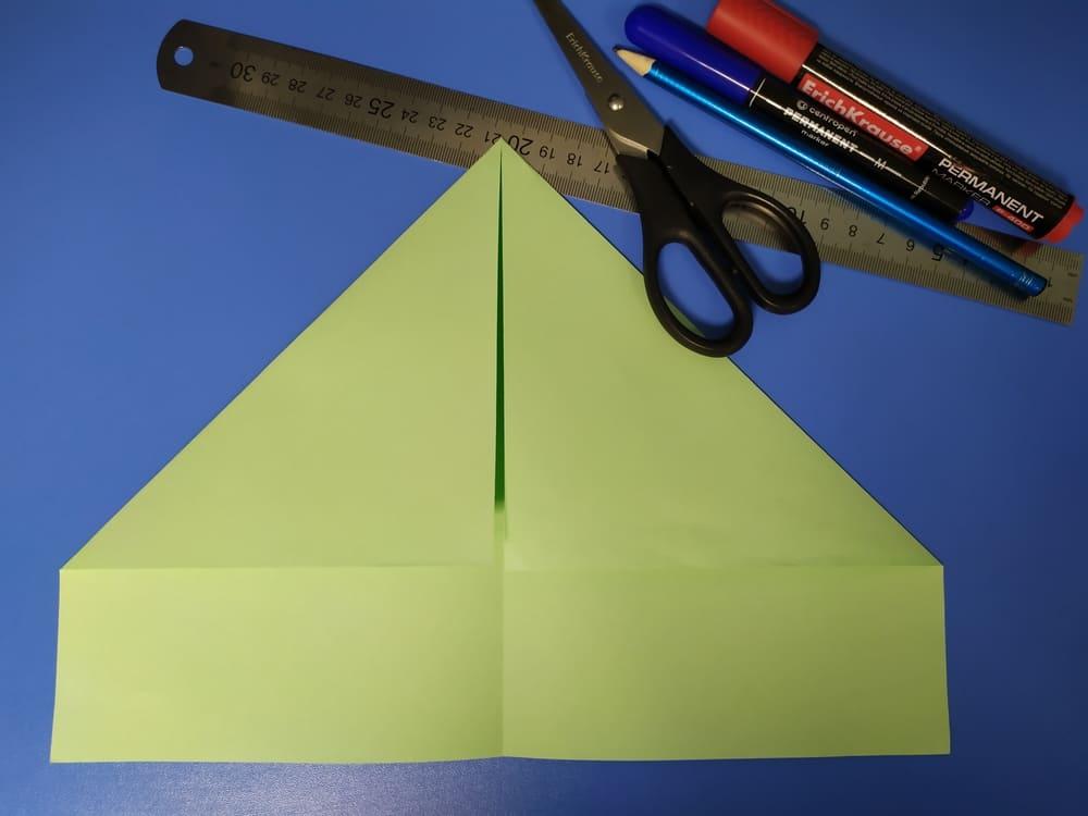 Как сделать милую закладку из бумаги - фото 2
