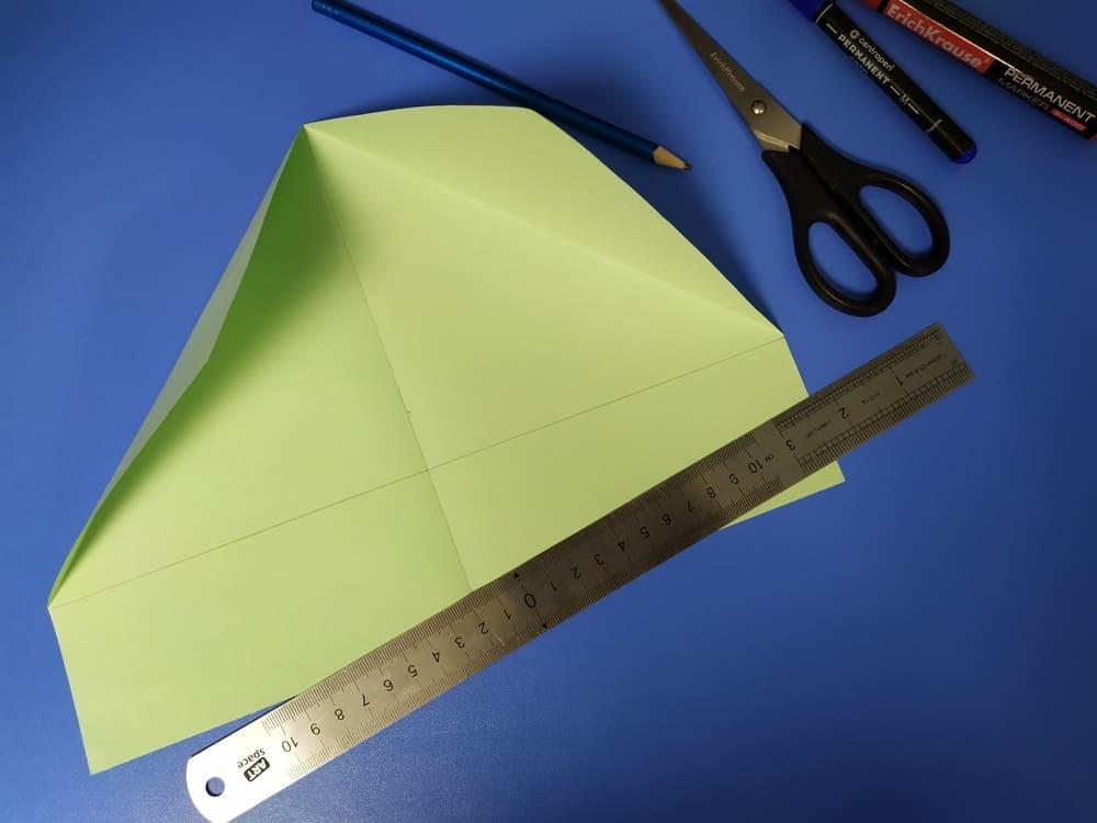 Как сделать милую закладку из бумаги - фото 3
