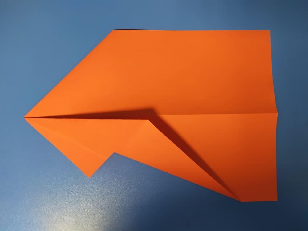 Самолетик из бумаги Быстрый - фото 2