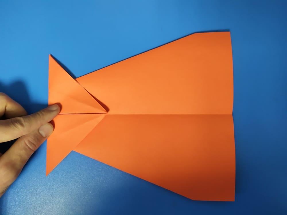 Самолетик из бумаги Быстрый - фото 4