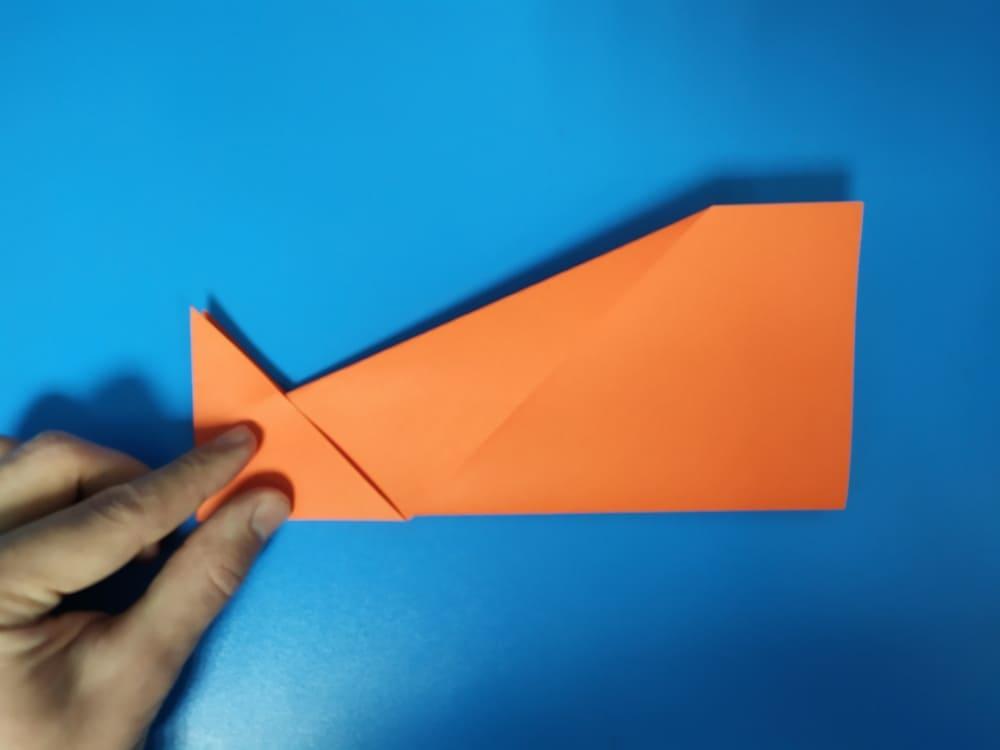 Самолетик из бумаги Быстрый - фото 5