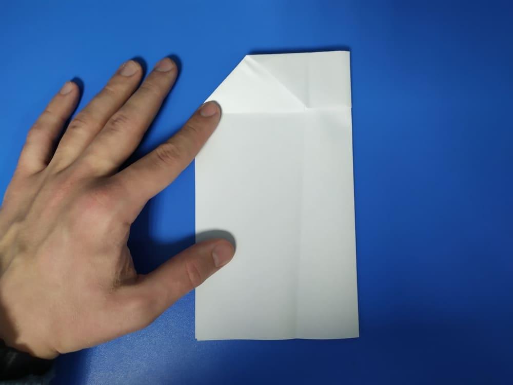 Самолетик из бумаги Грозный молот - фото 6