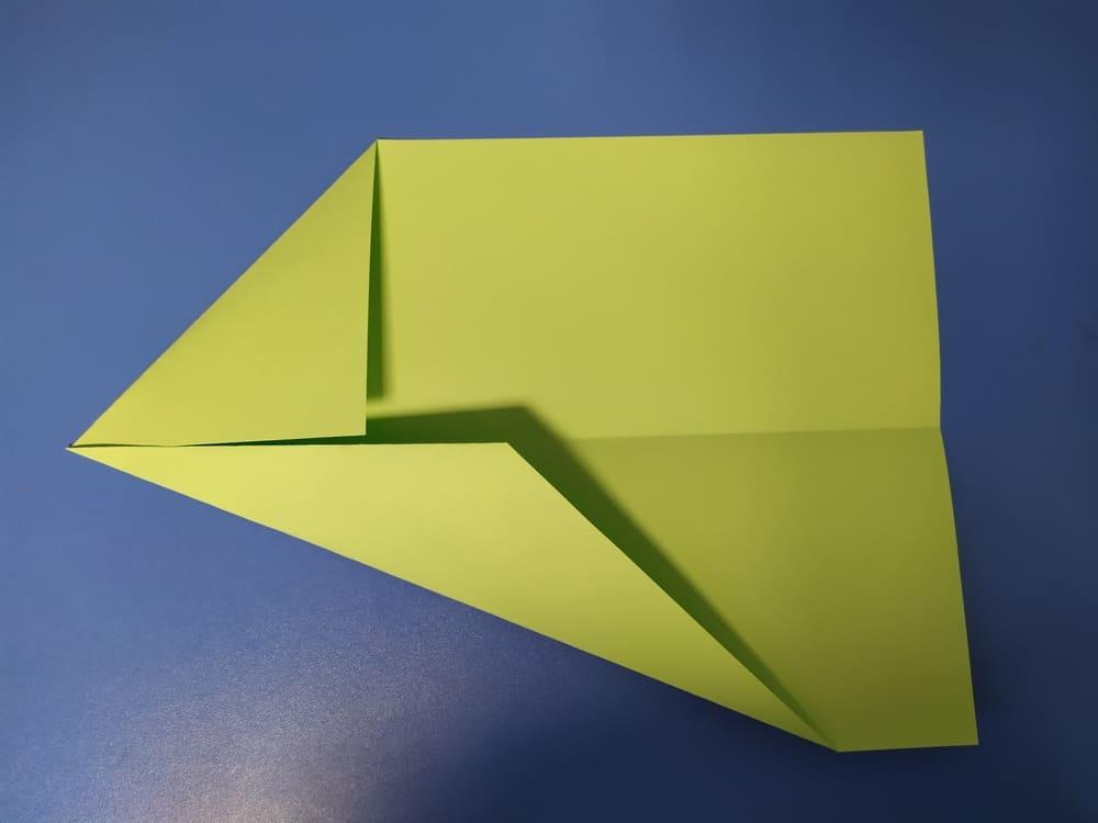 Самолетик из бумаги Истребитель - фото 3