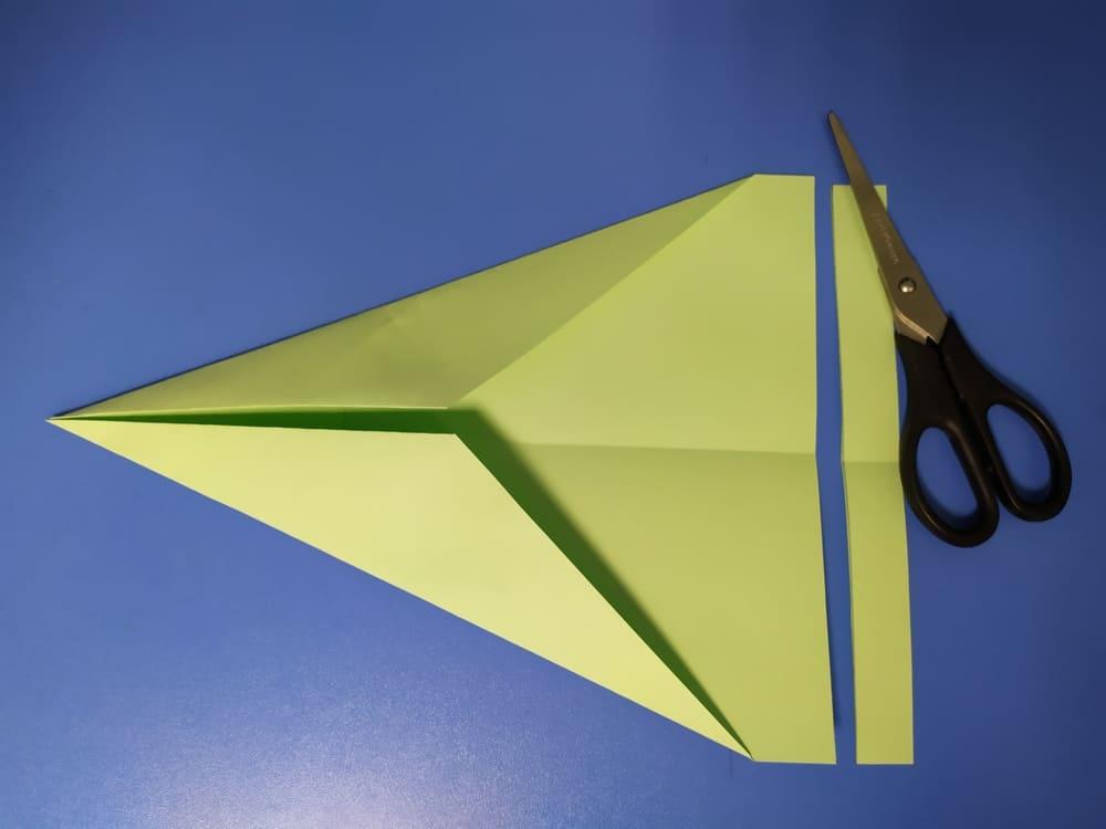 Самолетик из бумаги Истребитель - фото 4