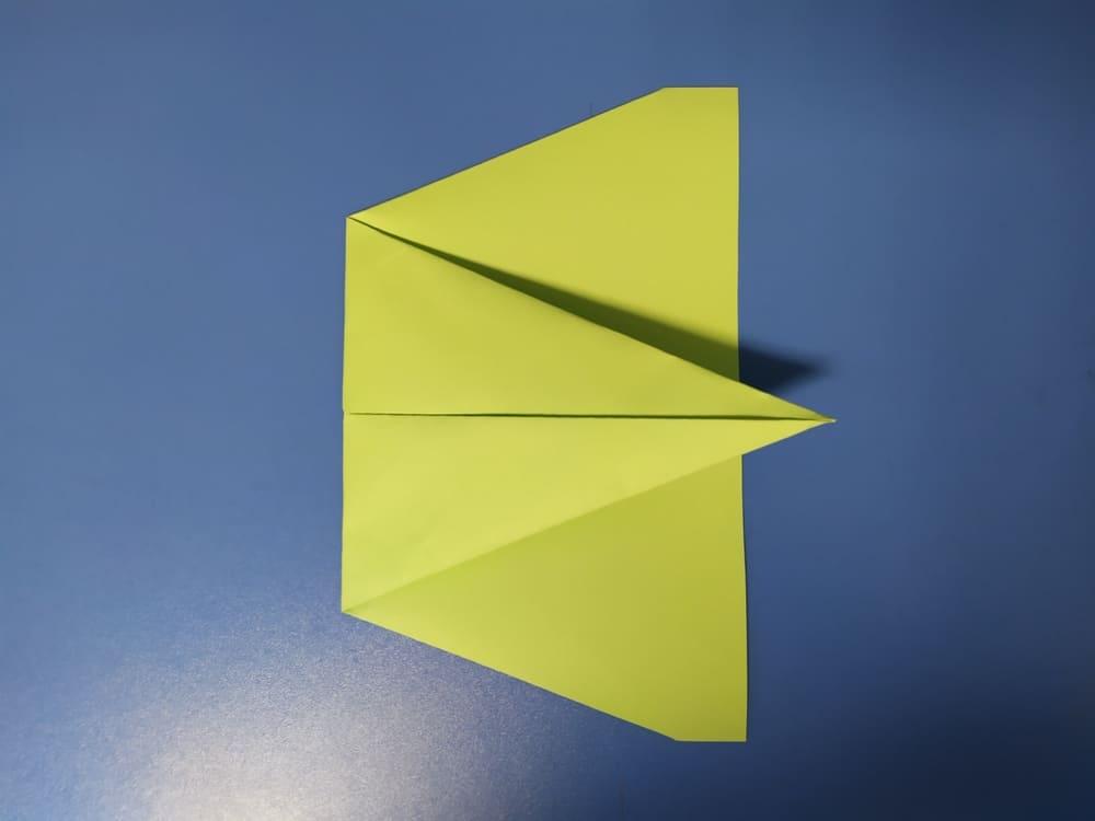 Самолетик из бумаги Истребитель - фото 5