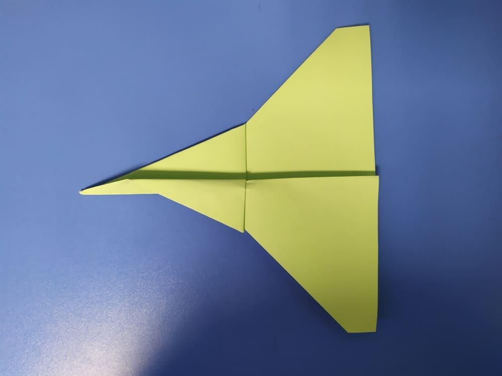 Самолетик из бумаги Истребитель - фото 8