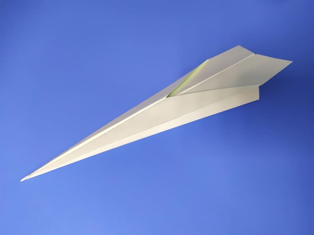 Самолетик из бумаги Стрела