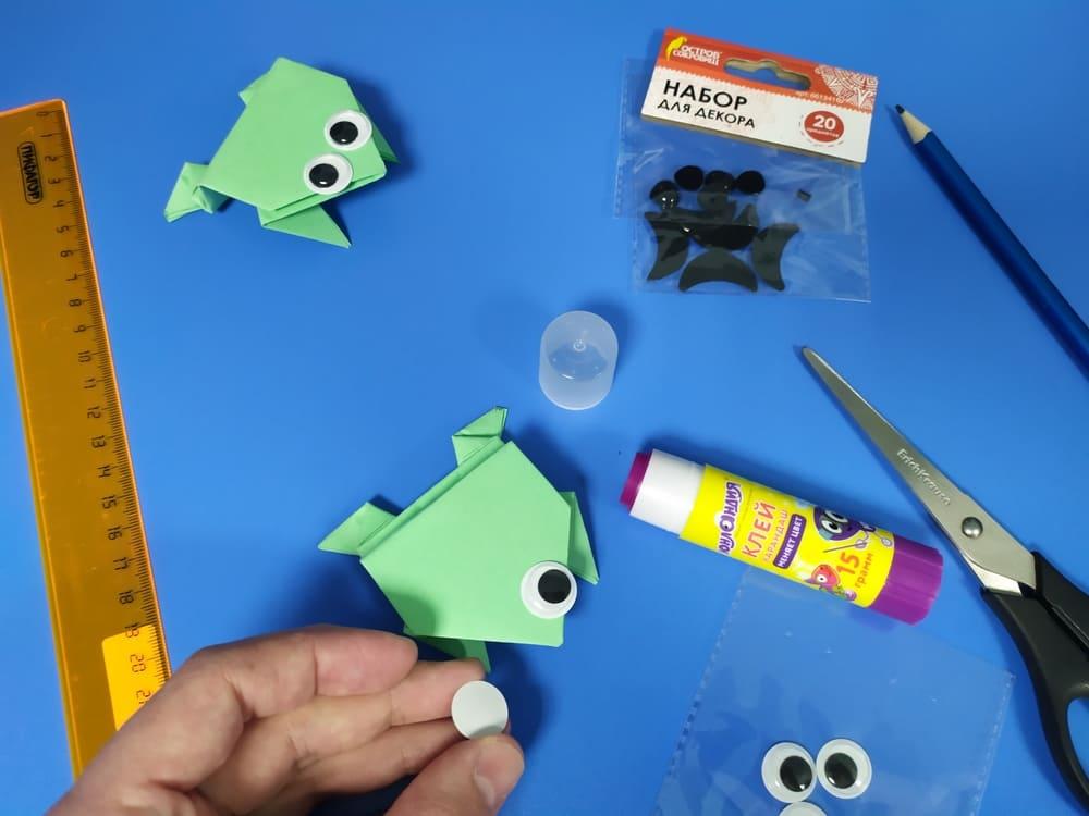 Лягушка из бумаги - фото 17