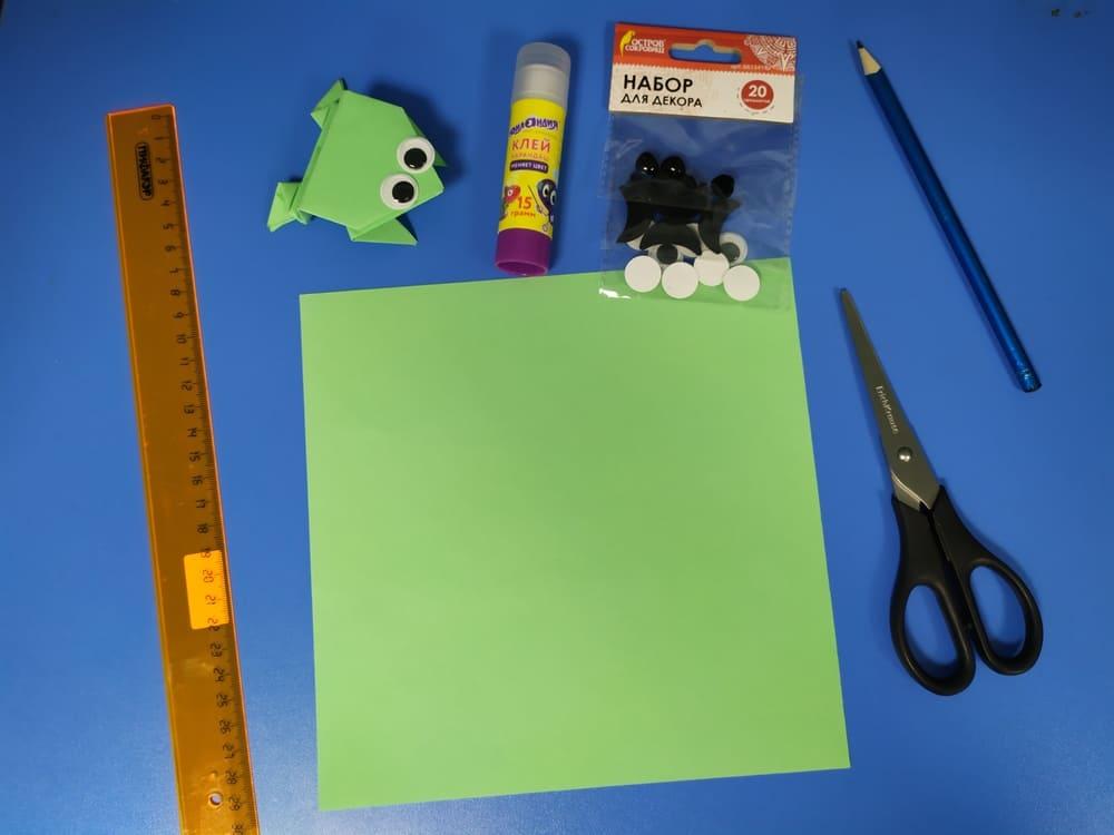 Лягушка из бумаги - фото 2