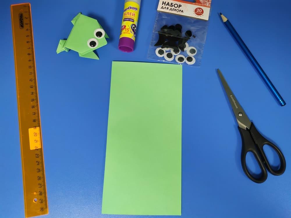 Лягушка из бумаги - фото 3