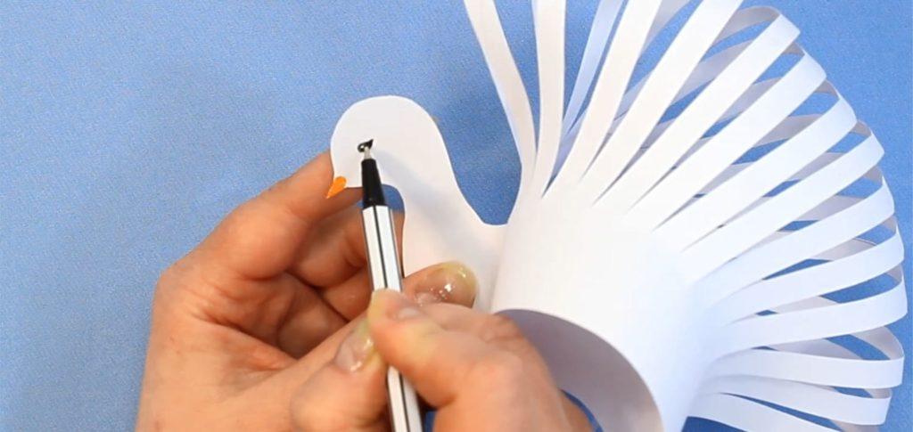 Объёмный голубь из бумаги к 1 мая - фото 10