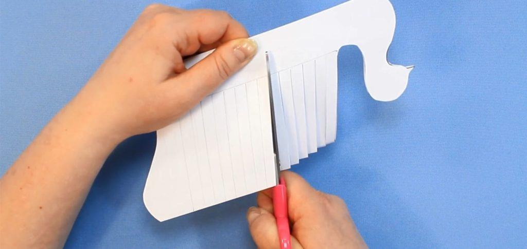Объёмный голубь из бумаги к 1 мая - фото 7