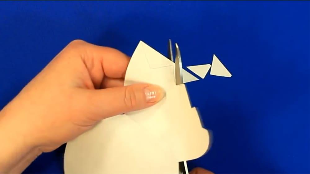 """Создание открытки из цветной бумаги """"Цыпленок"""" - фото 6"""