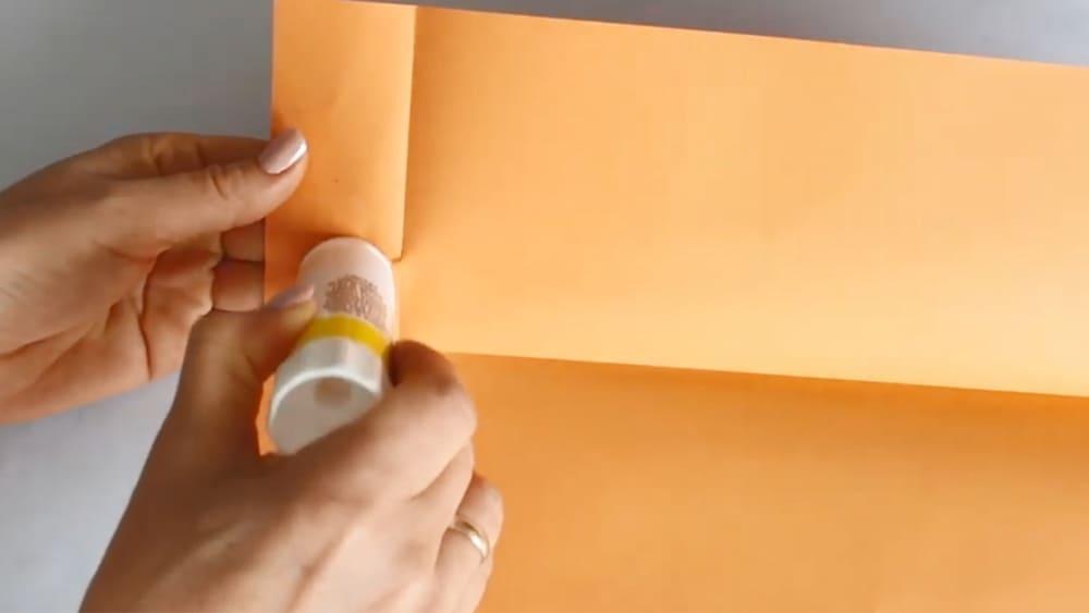 Ежик из бумаги - фото 3