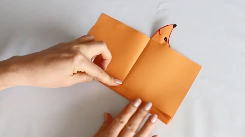 Ежик из бумаги - фото 6