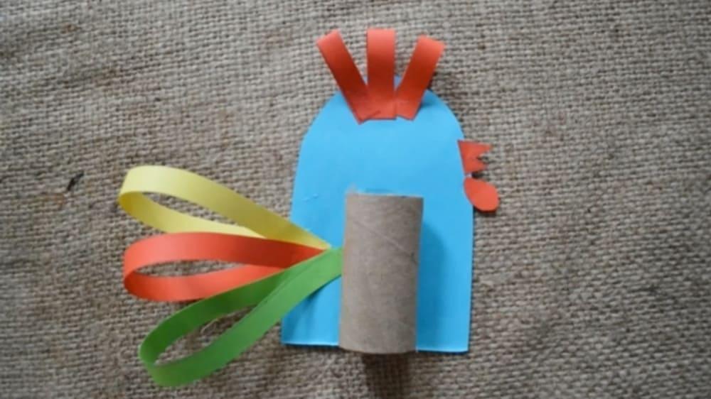 Петушок из бумаги - 5