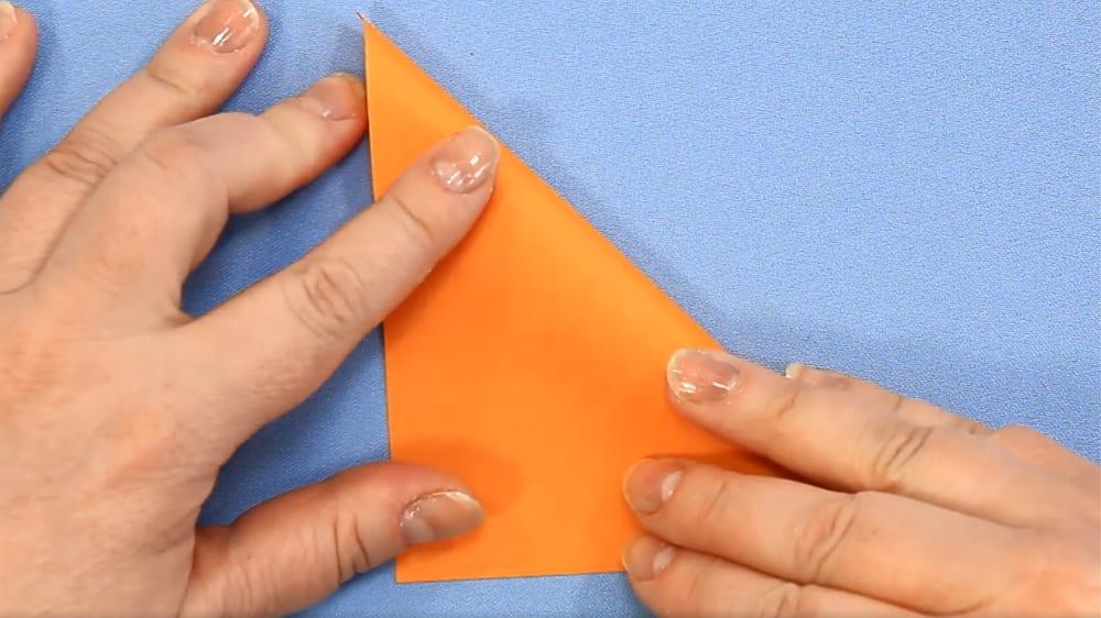 Собака-оригами из бумаги - 1