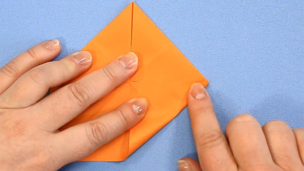 Собака-оригами из бумаги - 2