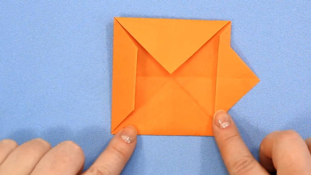 Собака-оригами из бумаги - 4