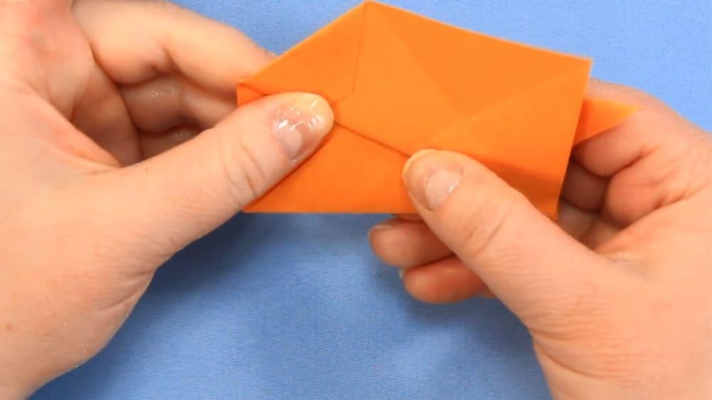 Собака-оригами из бумаги - 5