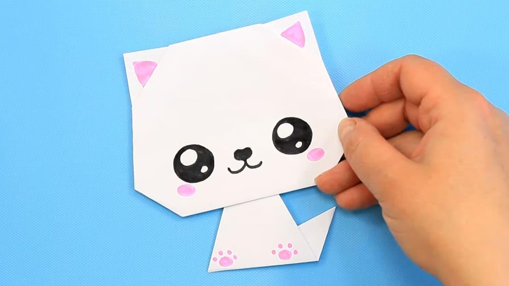 Кошка из бумаги - фото 10