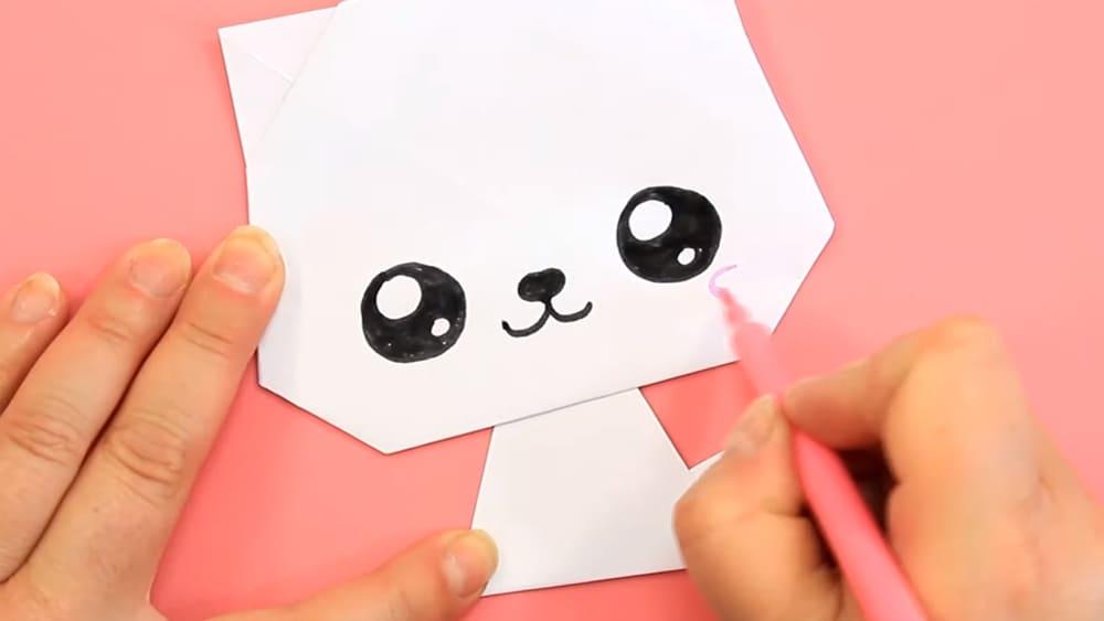 Кошка из бумаги - фото 9