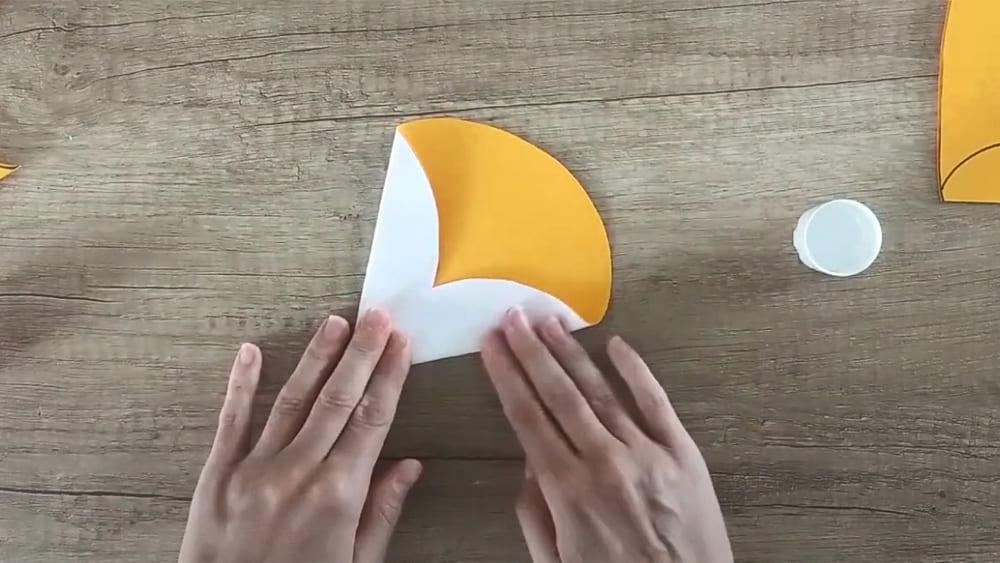Лисичка из бумаги - фото 3