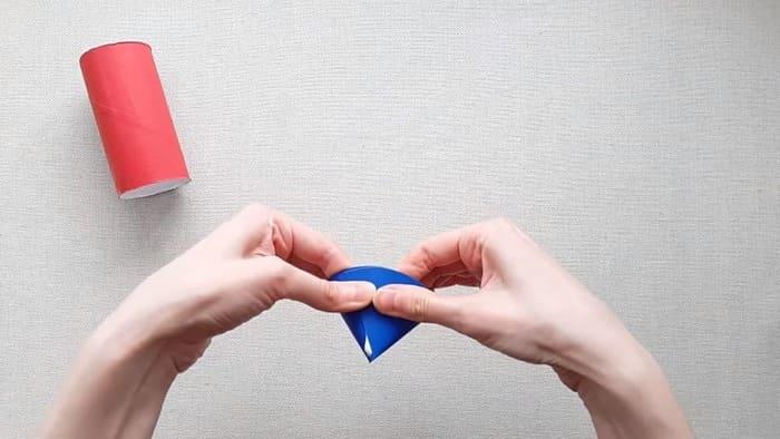 Ракета из цветного картона - фото 5