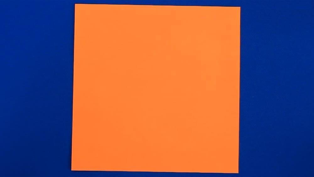 Кленовый лист из бумаги - фото 1