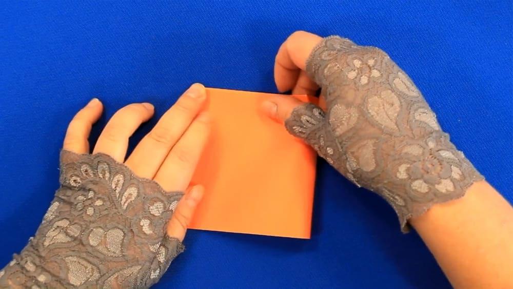Кленовый лист из бумаги - фото 2