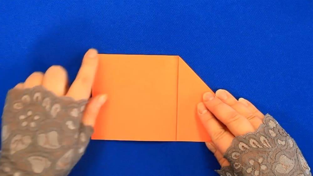 Кленовый лист из бумаги - фото 3