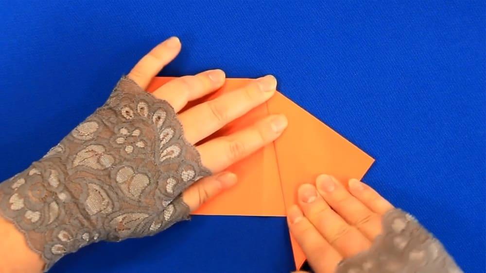 Кленовый лист из бумаги - фото 4