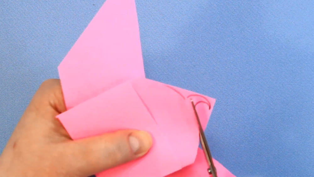 Птичка из бумаги - фото 15