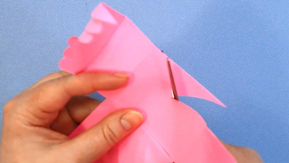 Птичка из бумаги - фото 17