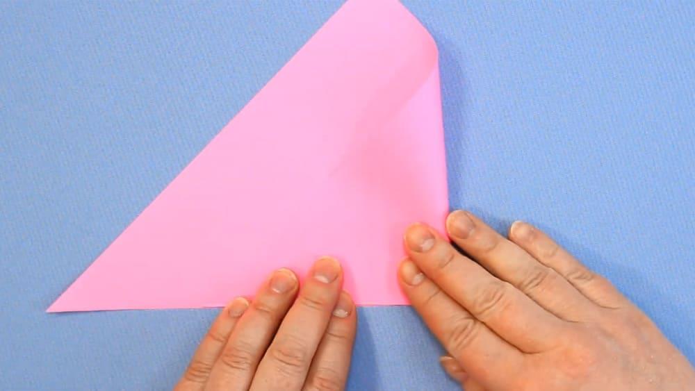 Птичка из бумаги - фото 4