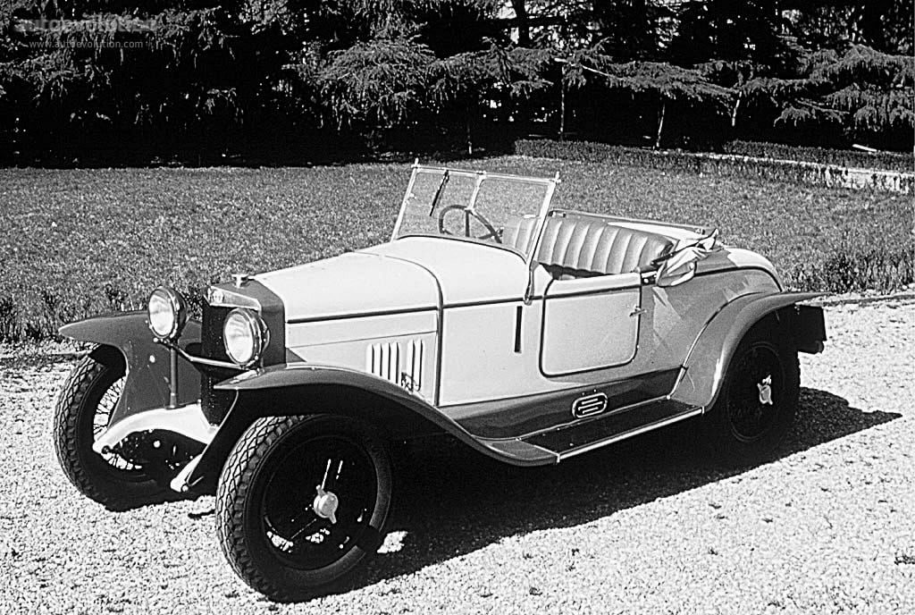 Двухцветный автомобиль 20 годов ХХ века