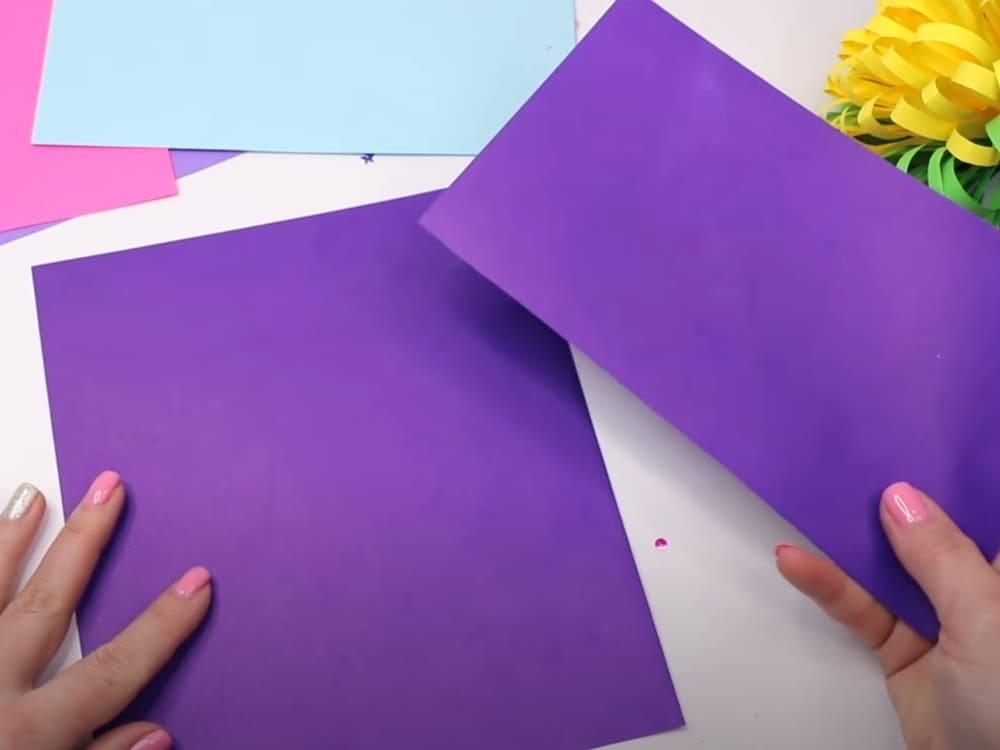 Букет из бумаги своими руками - фото 12