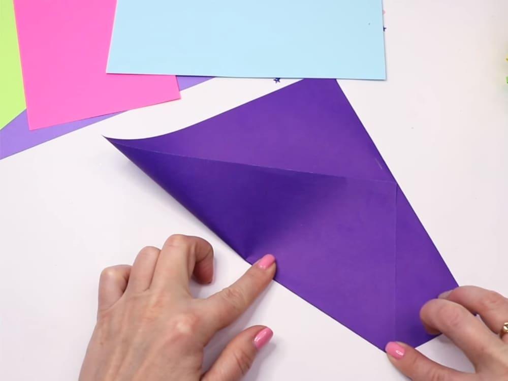 Букет из бумаги своими руками - фото 13