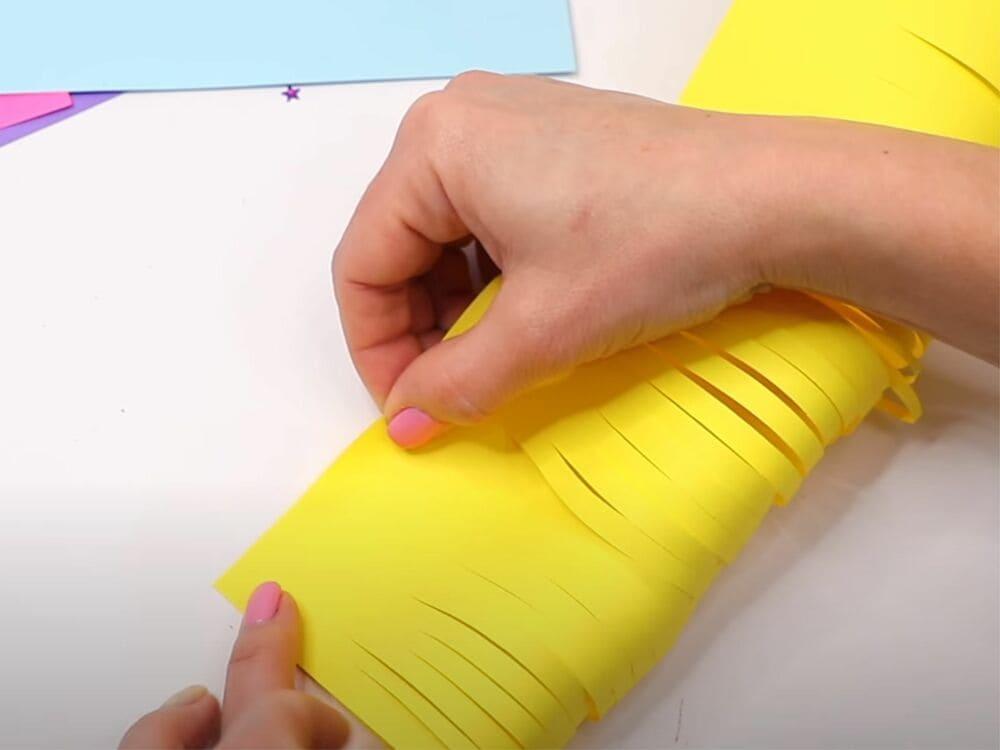 Букет из бумаги своими руками - фото 7