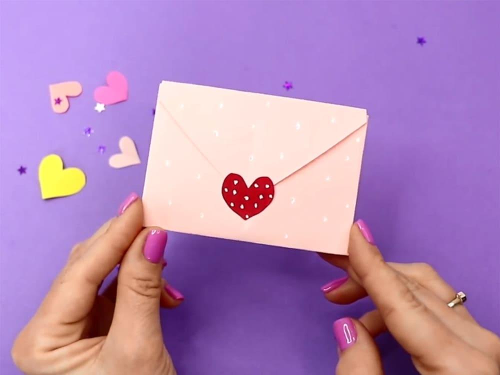 Конверт на День святого Валентина