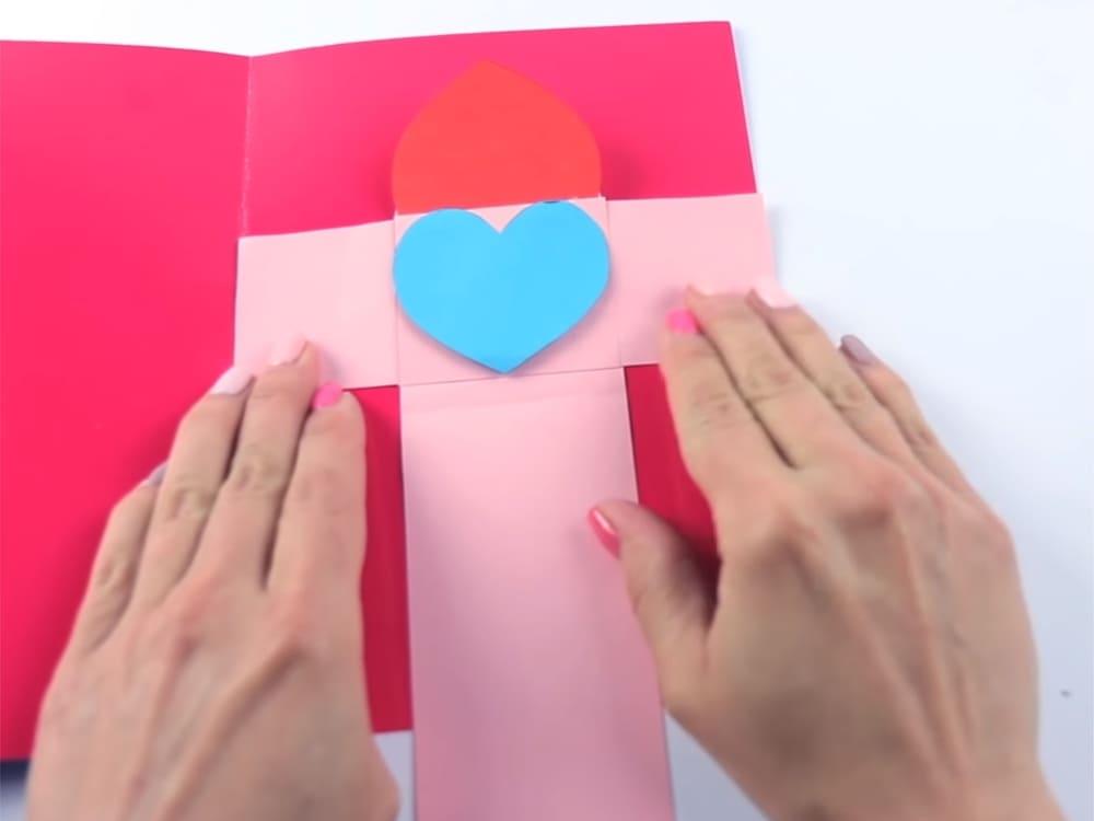 Двигающаяся открытка своими руками - фото 12