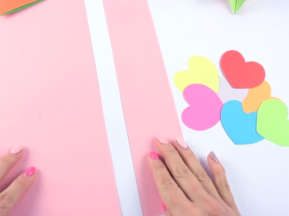 Двигающаяся открытка своими руками - фото 3