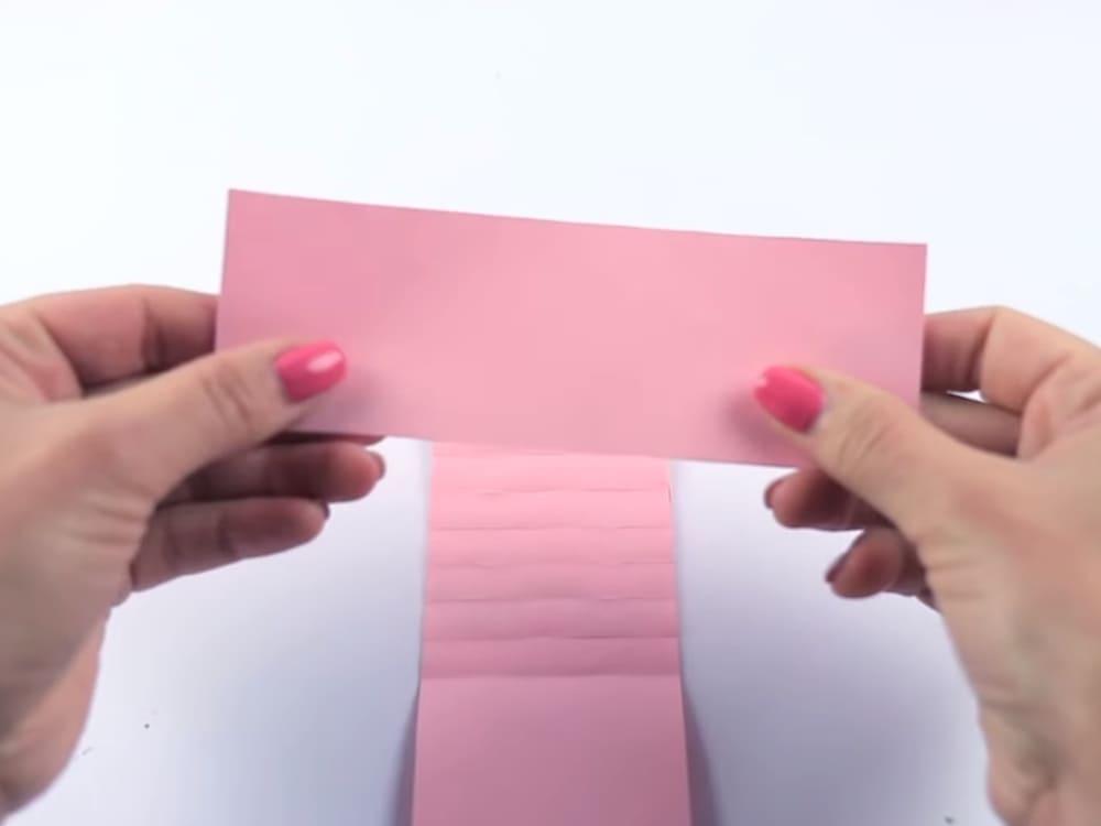 Двигающаяся открытка своими руками - фото 9