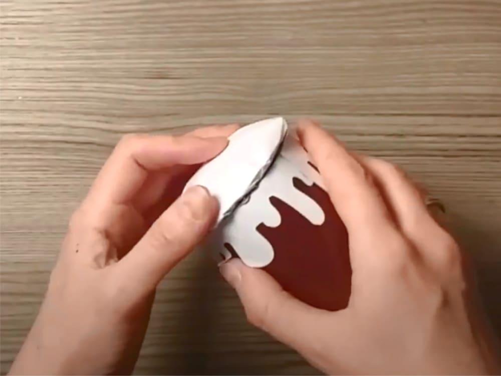 Кулич из картона своими руками - фото 9