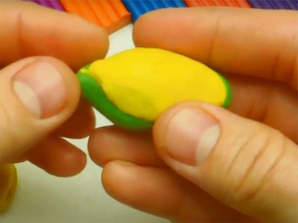 Лягушка из пластилина - фото 3