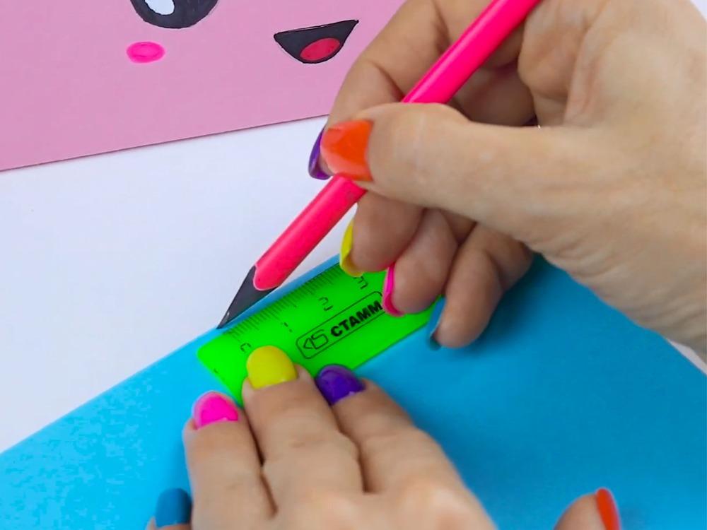 Как сделать пенал из бумаги - фото 1