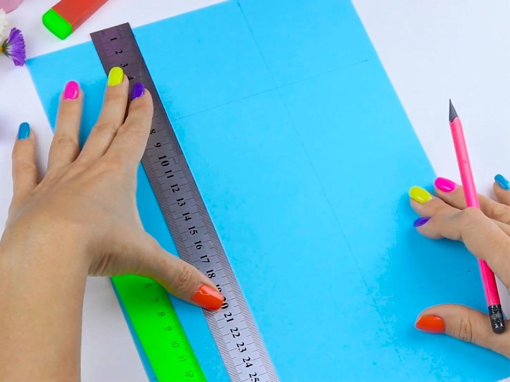Как сделать пенал из бумаги - фото 2